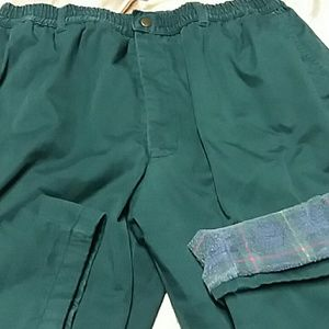 "Habands Ice House flannel lined slacks 42""X28"""